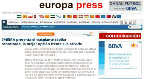 europa-press-Lopez Bran robot artas