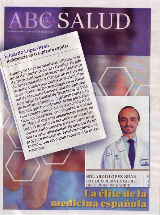 Eduardo Lopez Bran élite de la medicina española
