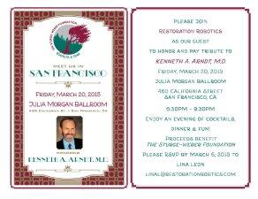 invitación cena benéfica AAD