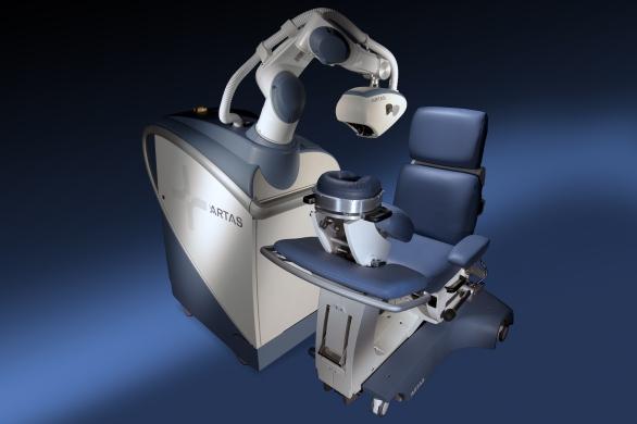 Robot artas para trasplante de pelo