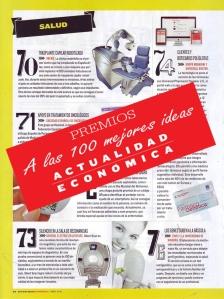 Actualidad economica premia robot artas 100 mejores ideas 2014