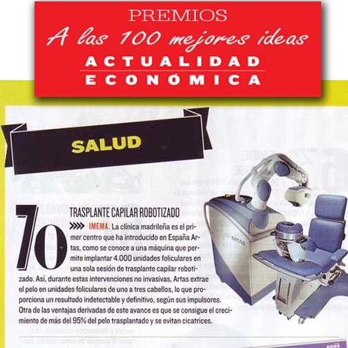 Robot Artas premiado 100 mwejores ideas año Actualidad economica
