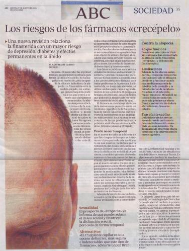 abc finasteride Eduardo Lopez Bran