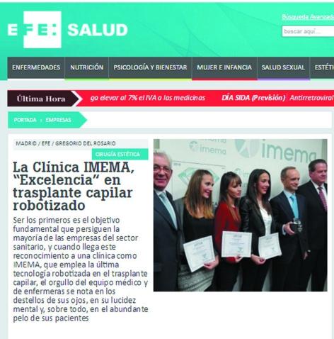 Clinica Imema Artas Clinical excellence trasplante de pelo efe salud ok