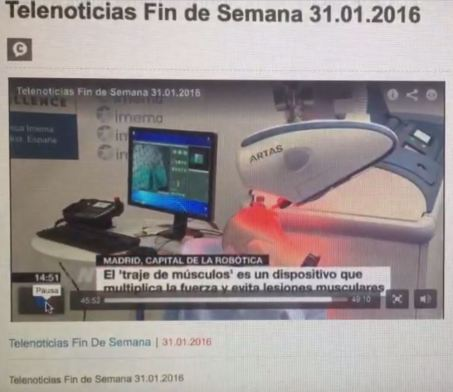 TeleMadrid Fin de Semana Feria Robot 2016