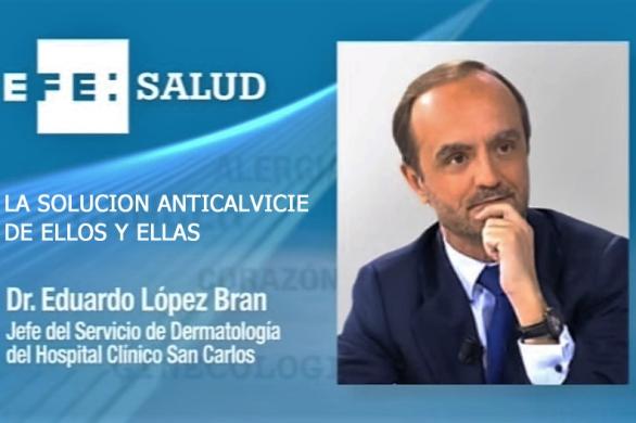 la solucion anticalvicie de ellos y ellas Dr. Lopez Bran
