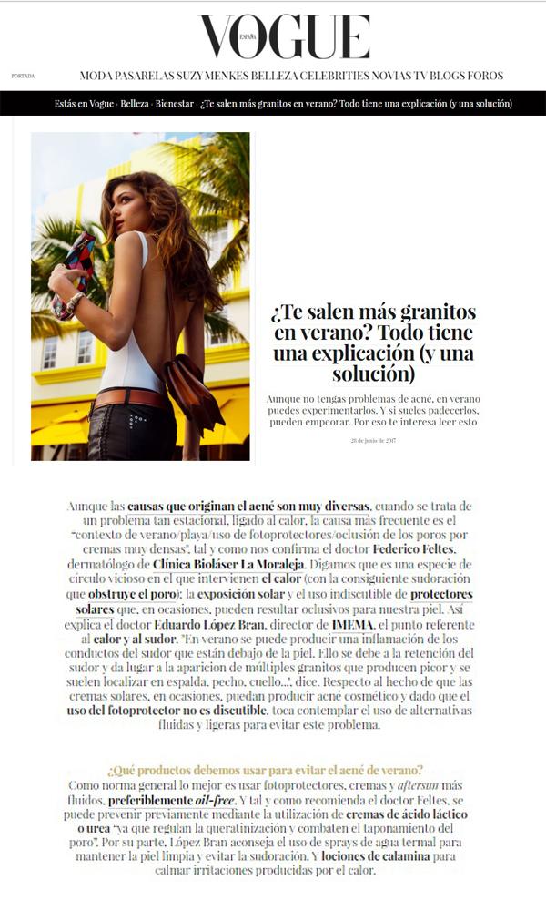 Solución a los granitos en la espalda. López Bran